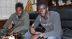 Diyarbakırspor'a 2 Senegalli
