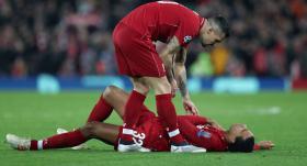 Liverpool'da Matip'in köprücük kemiği kırıldı