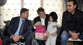 Beşiktaşlı yöneticilerden Mehmet Tutulkan'ın ailesine ziyaret