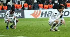Beşiktaş, Avrupa'da tarihi rekorlardan hüzne döndü