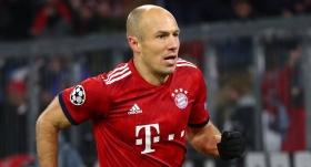 Robben, sezonun ilk yarısını kapattı