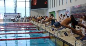 Geleceğin yüzücüleri Trabzon'da