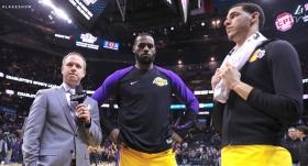 """Lakers'ta çifte """"triple double"""""""