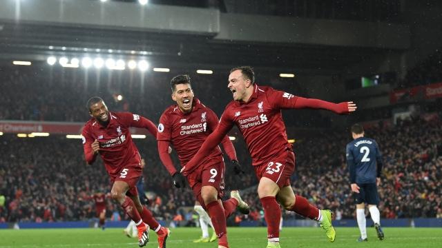 Liverpool - Manchester United (özet)