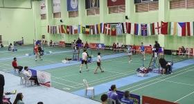 Uluslararası Büyükler Badminton Turnuvası başladı