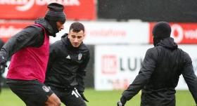 Beşiktaş'ta Babel antrenmana çıktı