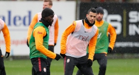 Galatasaray'da Belhanda çalışmalara başladı
