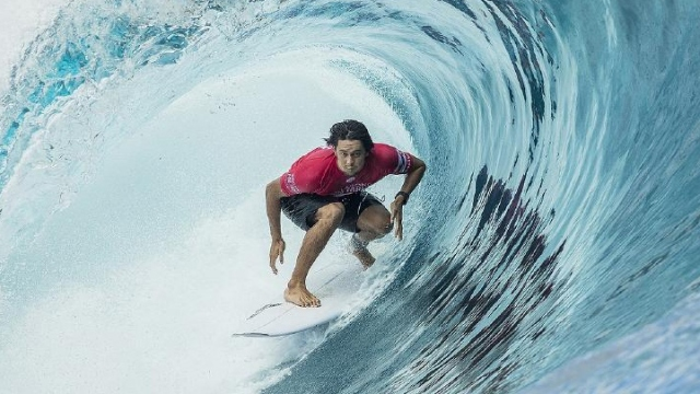 Sörfün ustaları Rio De Janerio'da boy gösterdi