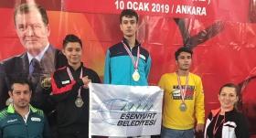 Engelli sporcu Yusuf Yünaçtı'nın gözü dünya şampiyonasında