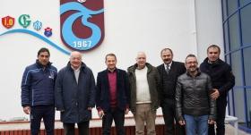 Sadri Şener'den Trabzonspor'a ziyaret