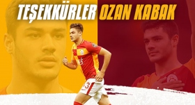 Galatasaray'dan Ozan Kabak için teşekkür mesajı