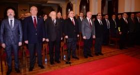 Galatasaray'da yeni üyeler için berat töreni yapıldı