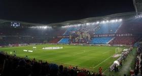 Trabzonsporlu taraftarlardan takımlarına büyük destek