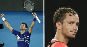 Medvedev'i yıkan Djokovic adını çeyrek finale yazdı
