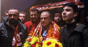 Galatasaray kafilesi Bolu'da