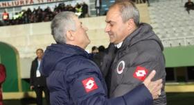 Tetiş Yapı Elazığspor-Gençlerbirliği maçı sonrası