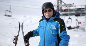 Kayak pistlerinin ihtiyar delikanlısı