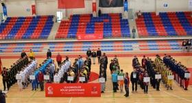 Karabük'te U14 Erkekler Bölge Şampiyonası heyecanı