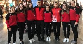 Kadın milli judokalar Düsseldorf'ta