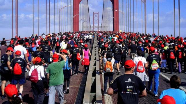 Lizbon Yarı Maratonu yine nefes kesti