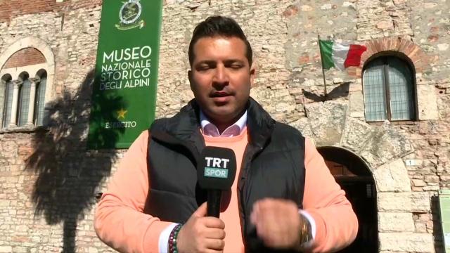 TRTSPOR ekibinin Trentino izlenimi