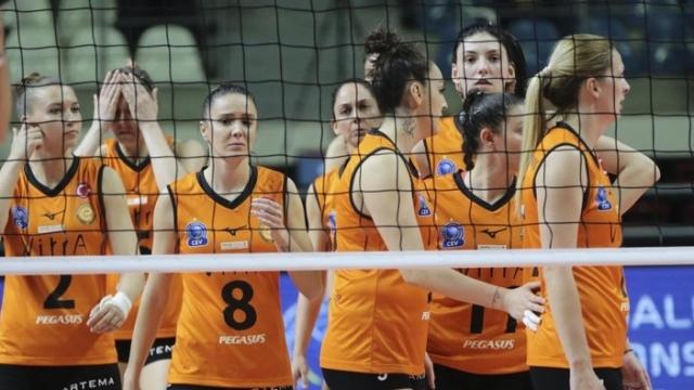 Eczacıbaşı VitrA, 2019 CEV Şampiyonlar Ligi'ne veda etti