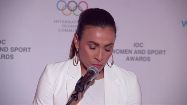 Uluslararası Olimpiyat Komitesi Kadın ve Spor Ödülleri sahiplerini oldu