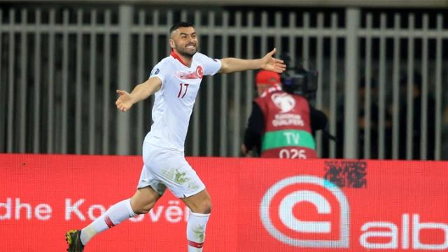 Arnavutluk 0-1 Türkiye (Gol)