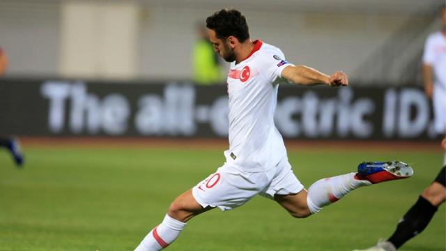 Arnavutluk 0-2 Türkiye (Gol)
