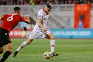 Arnavutluk - Türkiye maçından kareler
