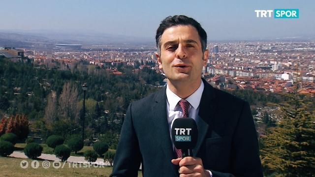 TRTSPOR ekibinin Eskişehir izlenimleri