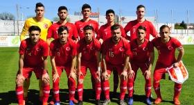 U19 Milli Takımı yine kayıp