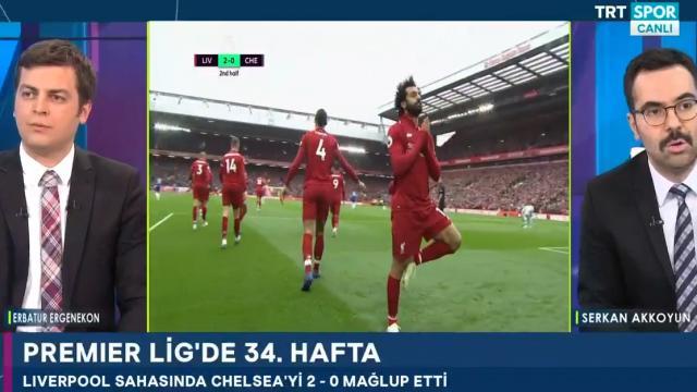 Salah'ın gol sevincinin perde arkası
