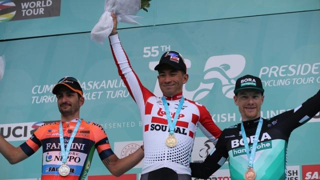 TUR 2019'da 4. etabın galibi Caleb Ewan oldu