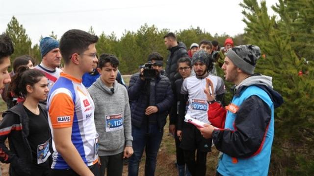 Türkiye Oryantiring Şampiyonası'nın finali Sivas'ta başladı