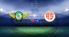 Akhisarspor-Antalyaspor