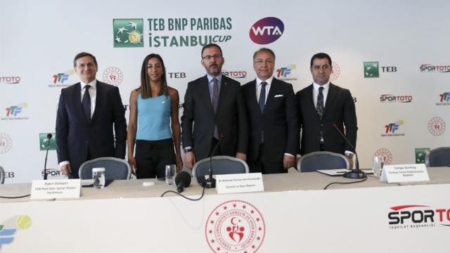 TEB BNP Paribas İstanbul Cup Tenis Turnuvası başlıyor