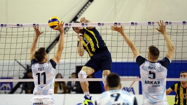 Fenerbahçe play-off final serisinde 1-0 öne geçti