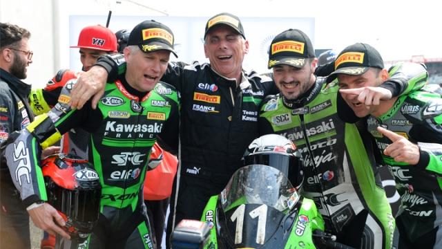 Le Mans 24'te kupayı Kawasaki kaldırdı