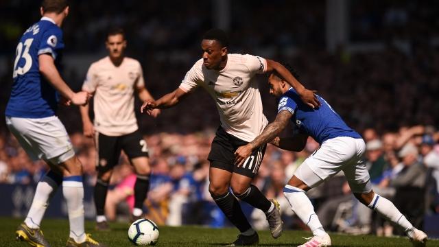 Everton - Manchester United (Özet)