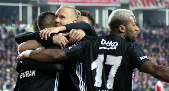 Beşiktaş Sivas'tan 3 puanla döndü