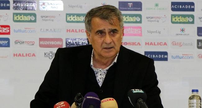 Şenol Güneş: Beşiktaş'ı zirvede bırakmak istiyoruz