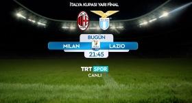 Milan - Lazio maçı TRT SPOR'da