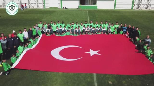 Atiker Konyaspor'dan 23 Nisan etkinliği