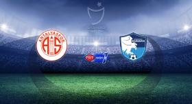 Antalyaspor BB Erzurumspor'u ağırlayacak