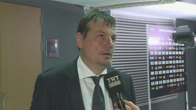 Ergin Ataman TRT SPOR'a konuştu
