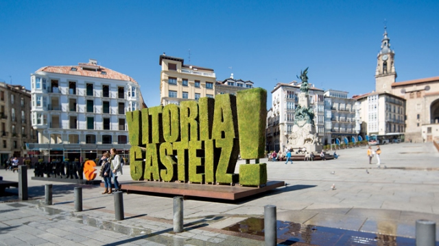 İşte Dörtlü Final'in oynanacağı Vitoria-Gasteiz şehri