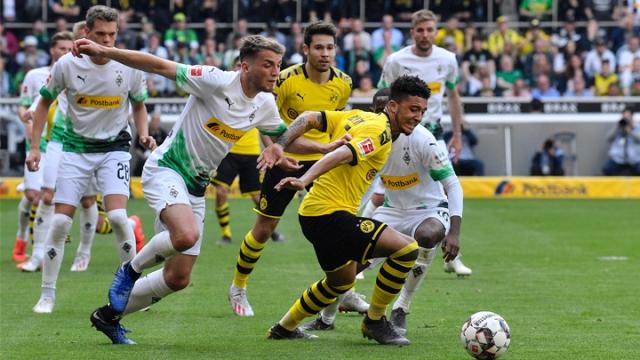 Borussia Mönchengladbach - Borussia Dortmund (Özet)