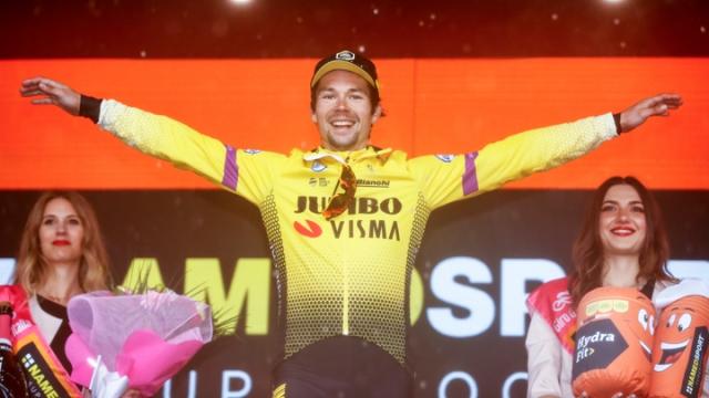 İtalya Bisiklet Turu'nda 9 etap Primoz Roglic'in oldu