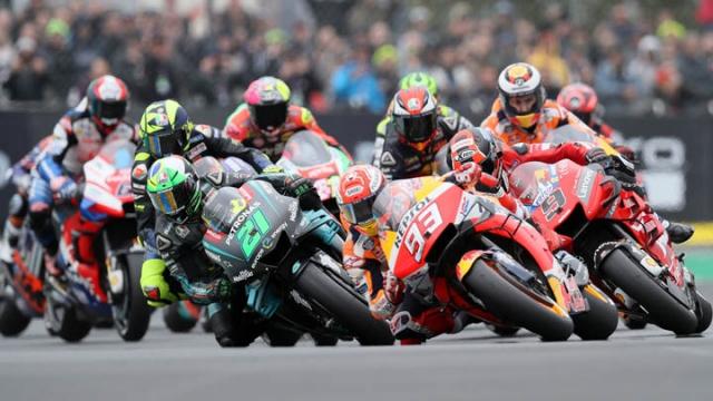 MotoGP fırtınası Fransa'da esti